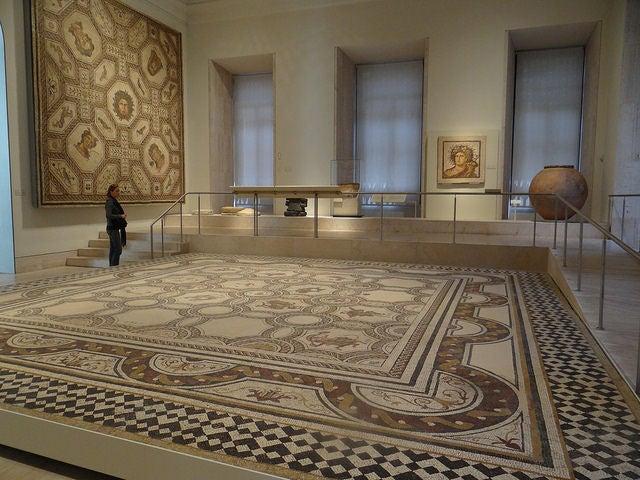 Sala de los Mosaicos en el Museo Arqueológico