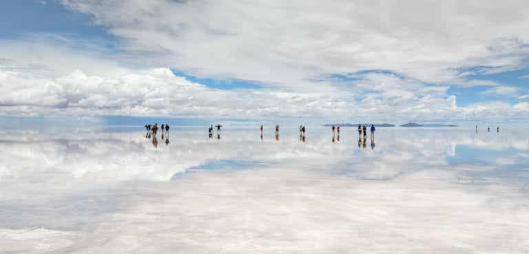 El salar de Uyuni, descubre el mayor espejo del planeta