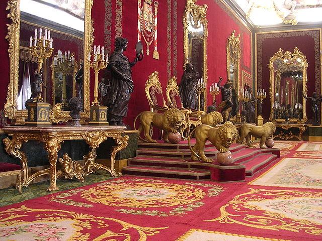 Salón del Trono del Palacio Real