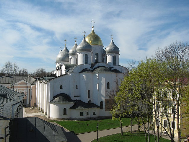 Catedral de Santa Sofía en Novgorod