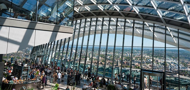 Sky Garden cerca del Tower Bridge