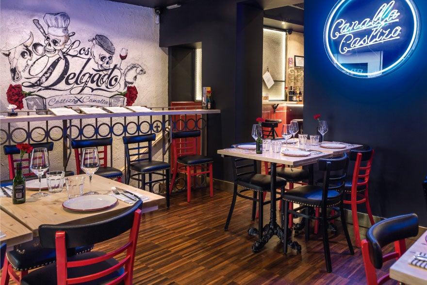 Taberna Los Delgado para comer comida española en Madrid