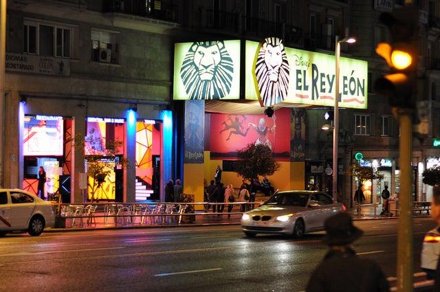 Teatro Lope de Vega en Madrid