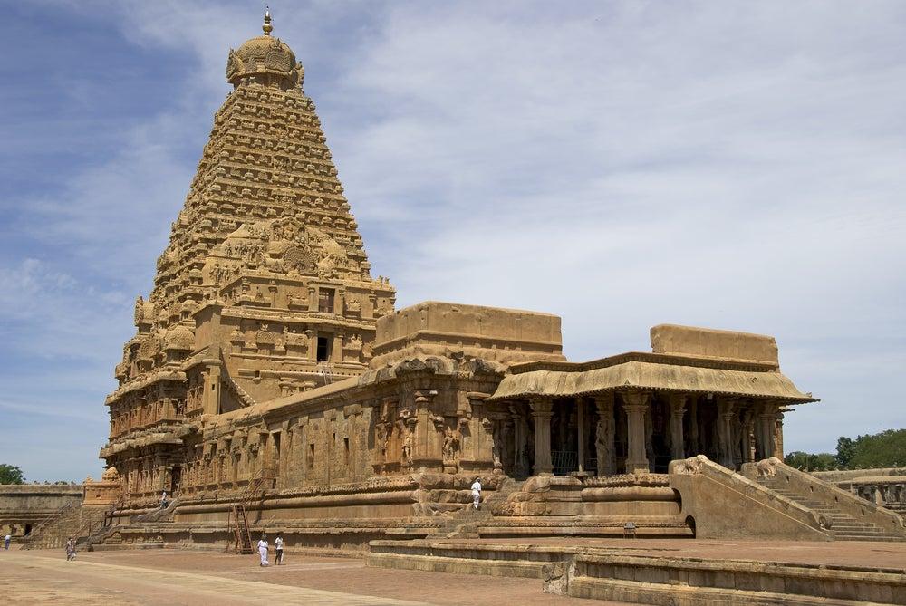 Cómo llegar al templo de Brihadisvara en la India