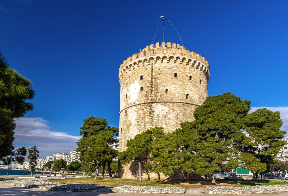 Torre Blanca en Tesalónica, Grecia