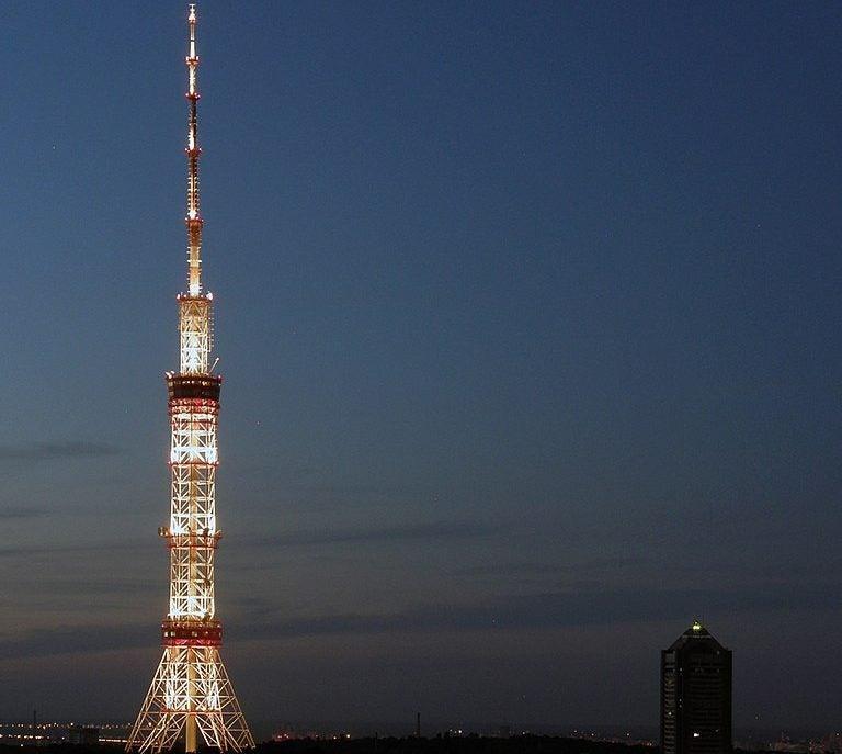 Torre de la televisión de Kiev