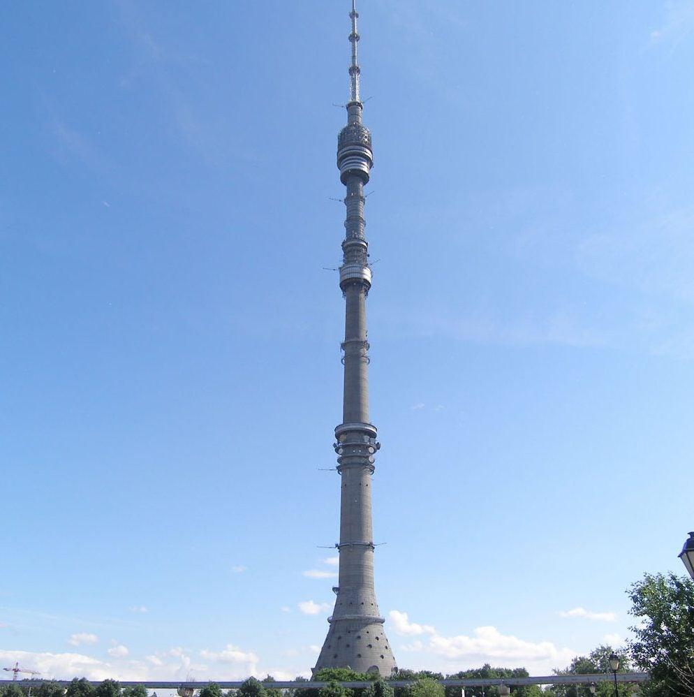 Torre Ostankino en Moscú