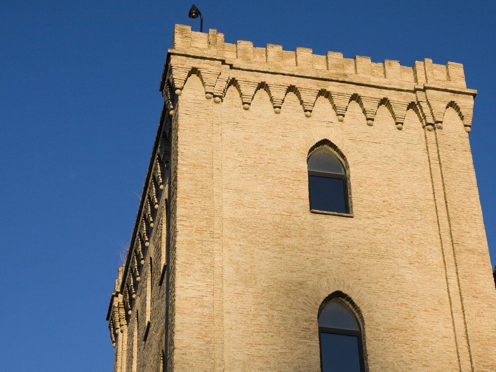 Torre del Trovador en la Aljafería