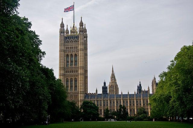 Torre Victoria en el Parlamento de Londres