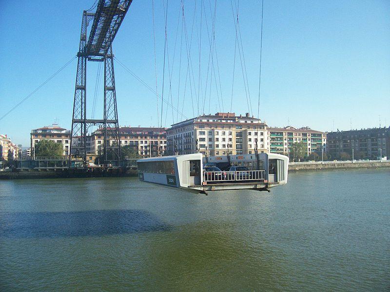 Puente transbordador de Vizcaya