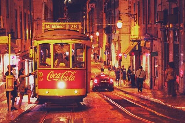 Noche en Lisboa: tranvía