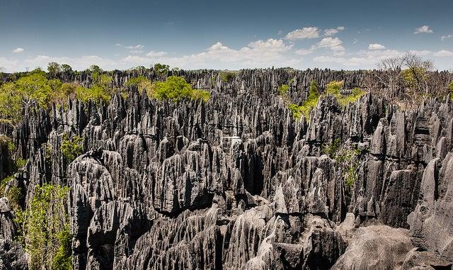 Tsingy de Bemaraha en MAdagascar