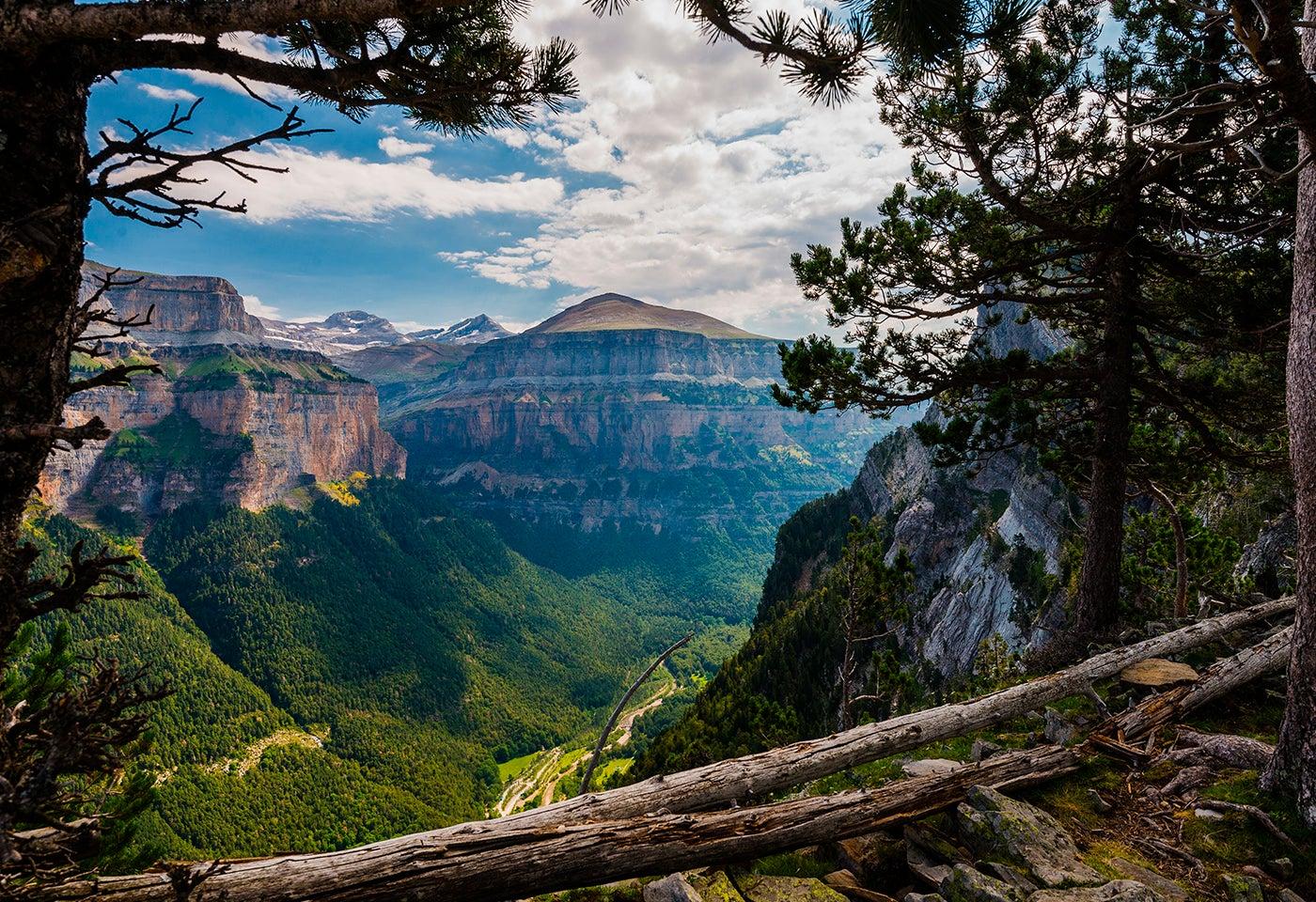 Valle de Ordesa en el Pirineo