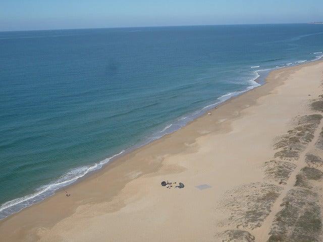 Playa de Vejer de la Frontera en Cádiz