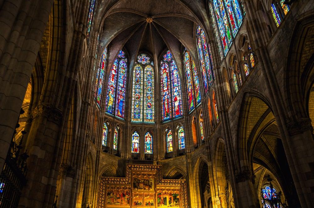 Vidrieras dela catedral de León