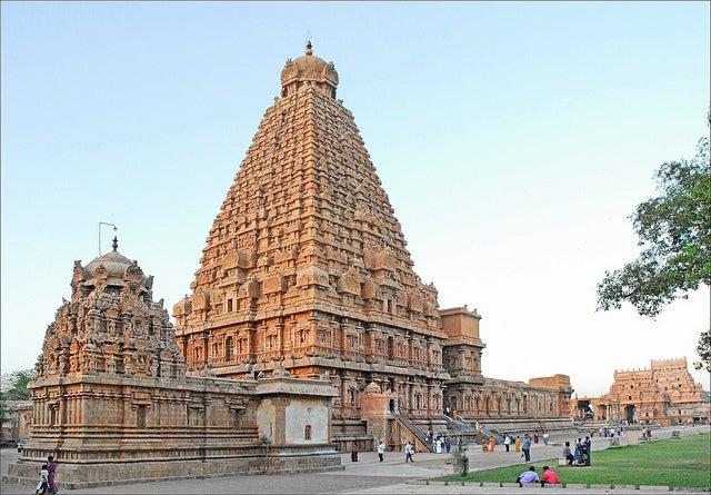 Vimana en el templo de Brihadisvara