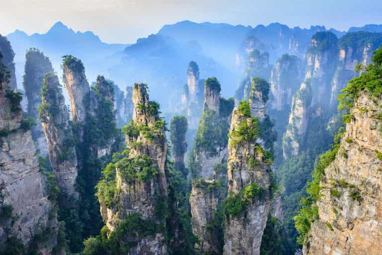 Espacios naturales en China que te sorprenderán