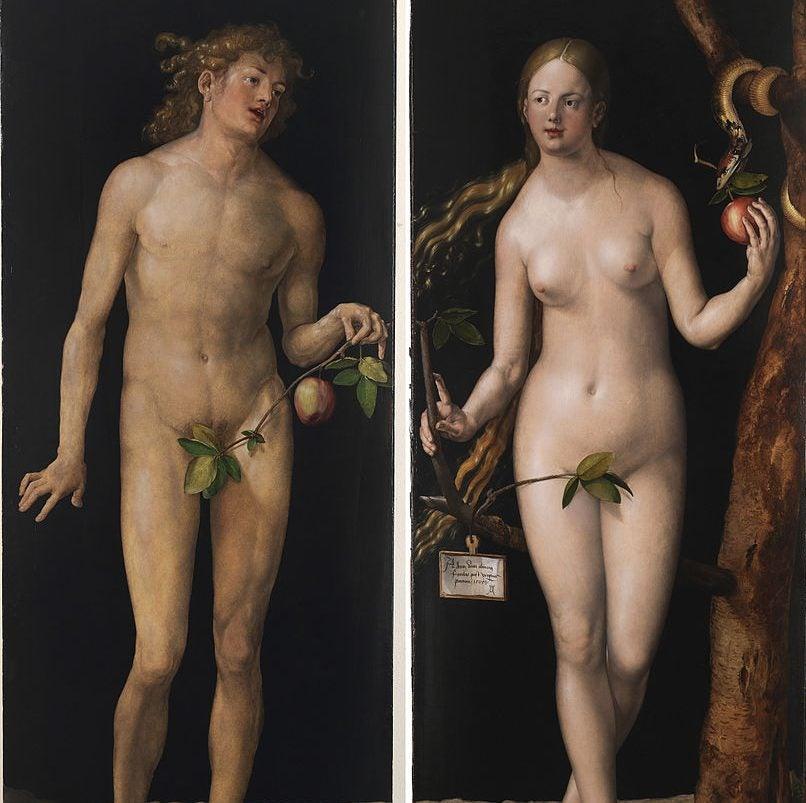 Adán y Eva de Durero