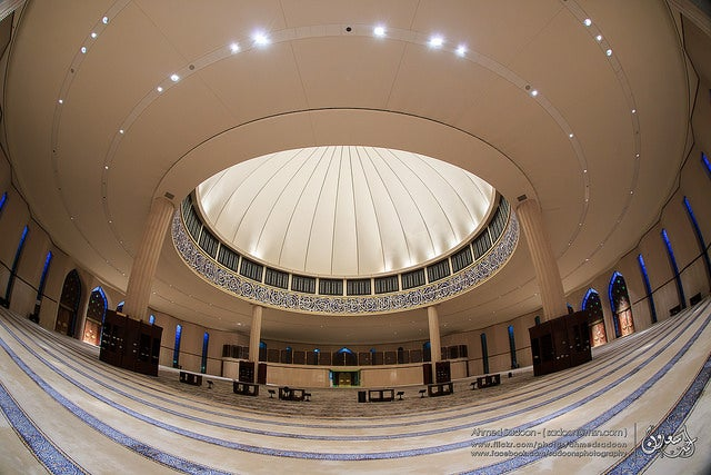 Mezquita del aeropuerto Fahd