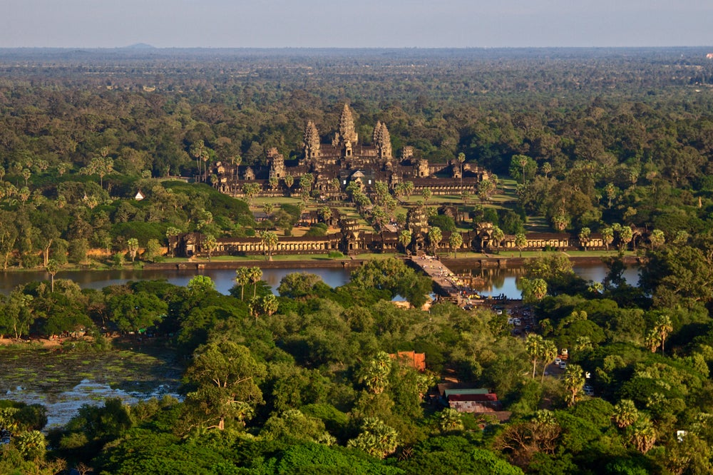 Angkor Wat en Camboya, uno de los países más baratos para viajar