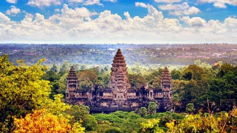 Los templos de Angkor, una de las maravillas del mundo