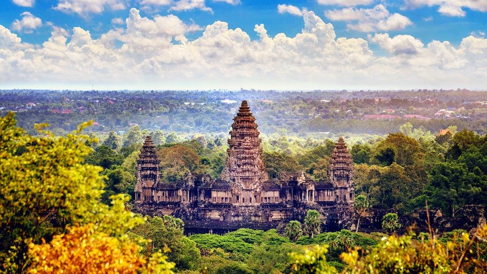 Angkor Wat en Camboya, uno de los países del Sudeste Asiático