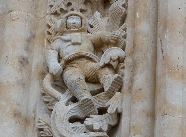 Astronauta de la catedral de Salamanca
