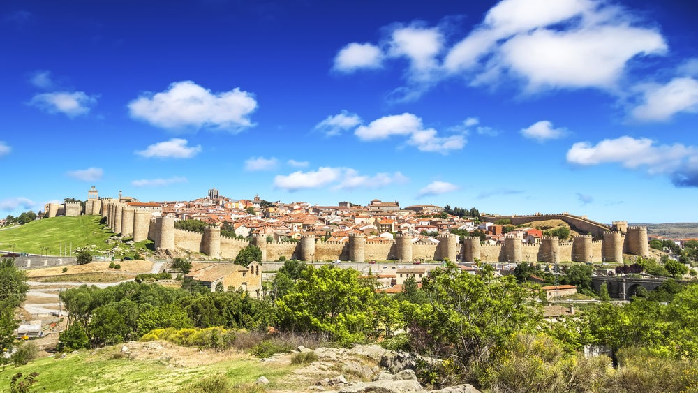 Ciudades amuralladas: Ávila