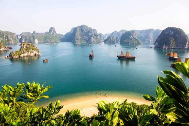 Navegar por la bahía de Halong, la joya de Vietnam