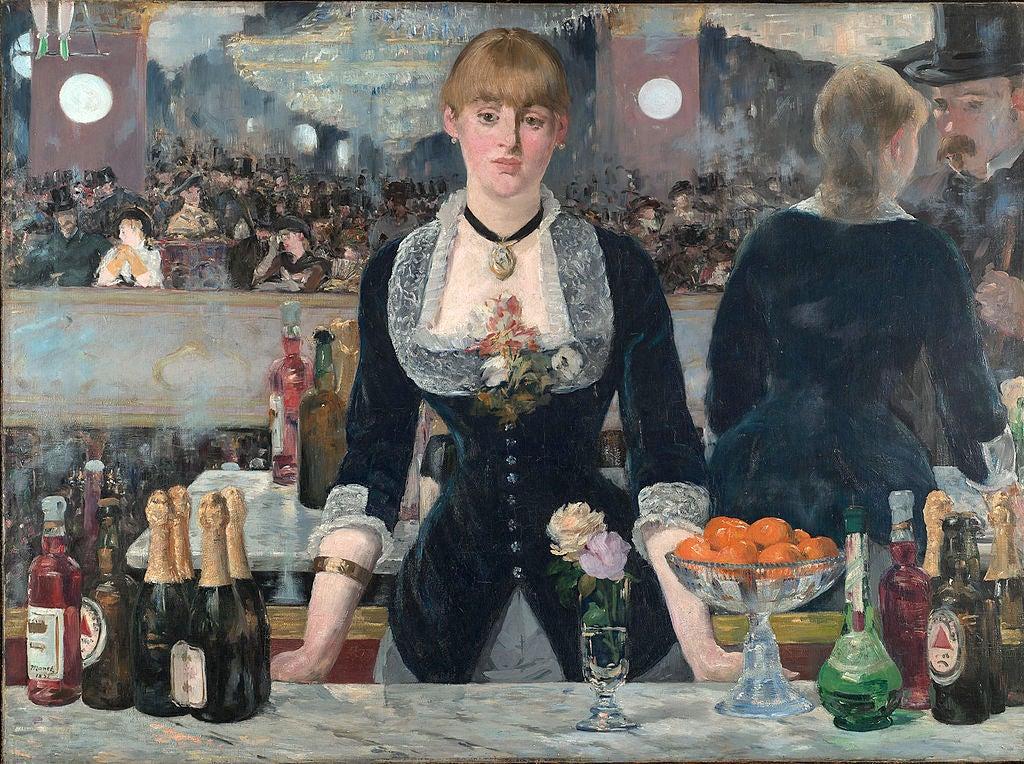 Bar del Folies Bergere de Manet