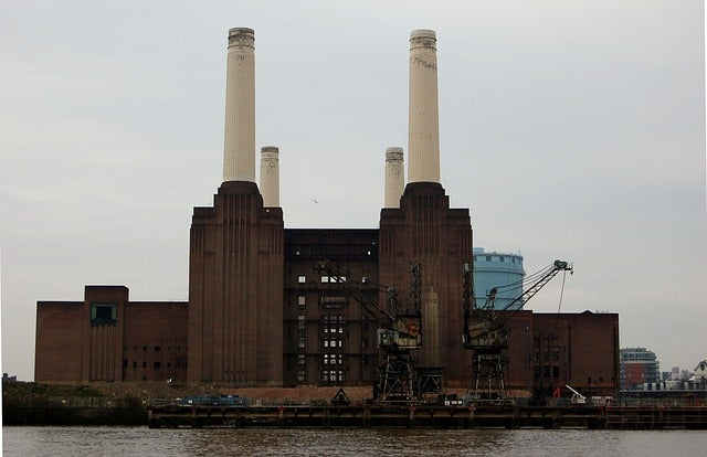 Battersea Power Station enLondres