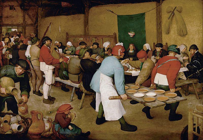 Boda Campesina de Pieter Brueghel