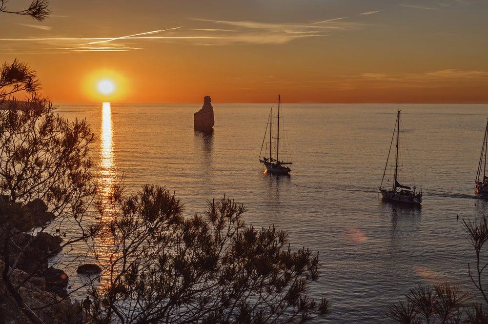 Cala Benirrás en Ibiza