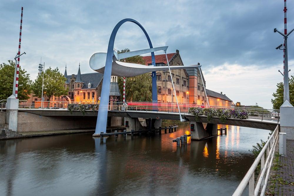 Canal en Leeuwarden