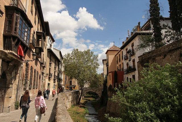 Carrera del Darro en Granada