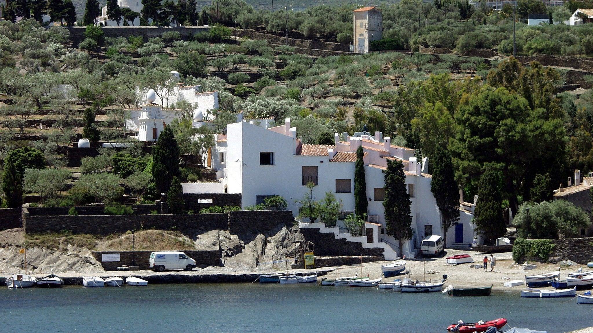 Casa de Dalí en Portlligat