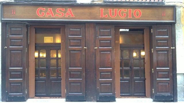 Casa Lucio en Madrid