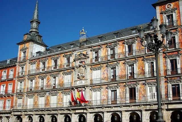 Casa de la Panadería en la Plaza Mayor de Madrid