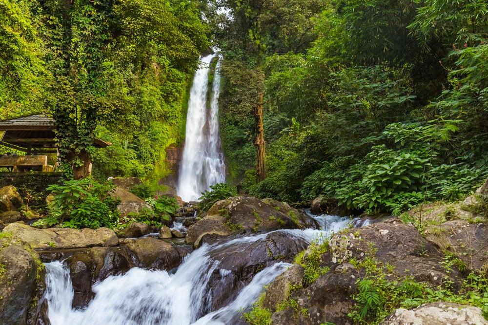 Cascada Gitgit en Bali