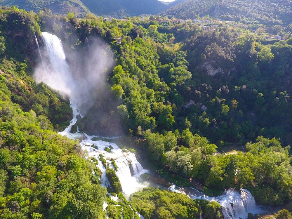 Cascada de Marmore en Italia