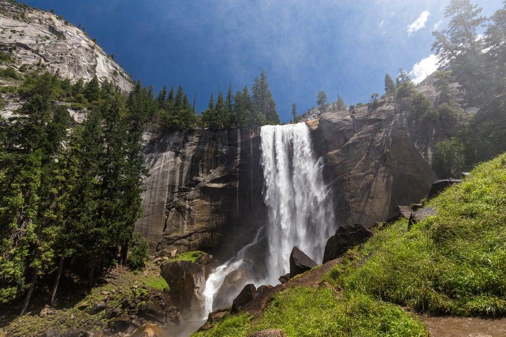 Cascada Vernal, una de ls cascadas de América más bonitas