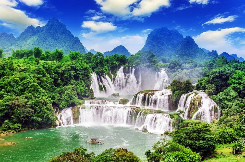 Las 8 cascadas de Asia más impresionantes