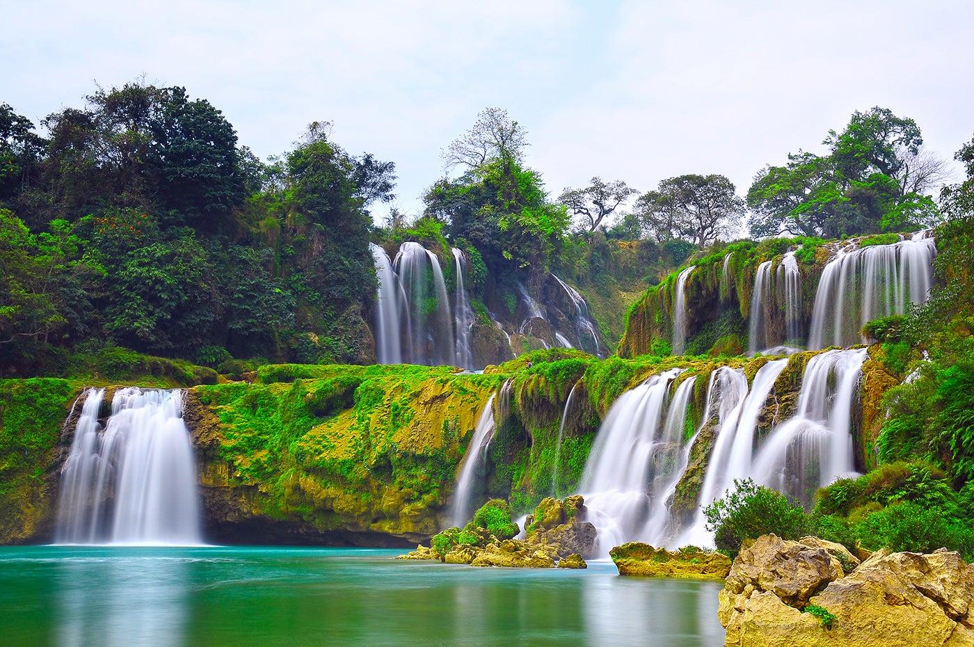 Cascadas Detián en China