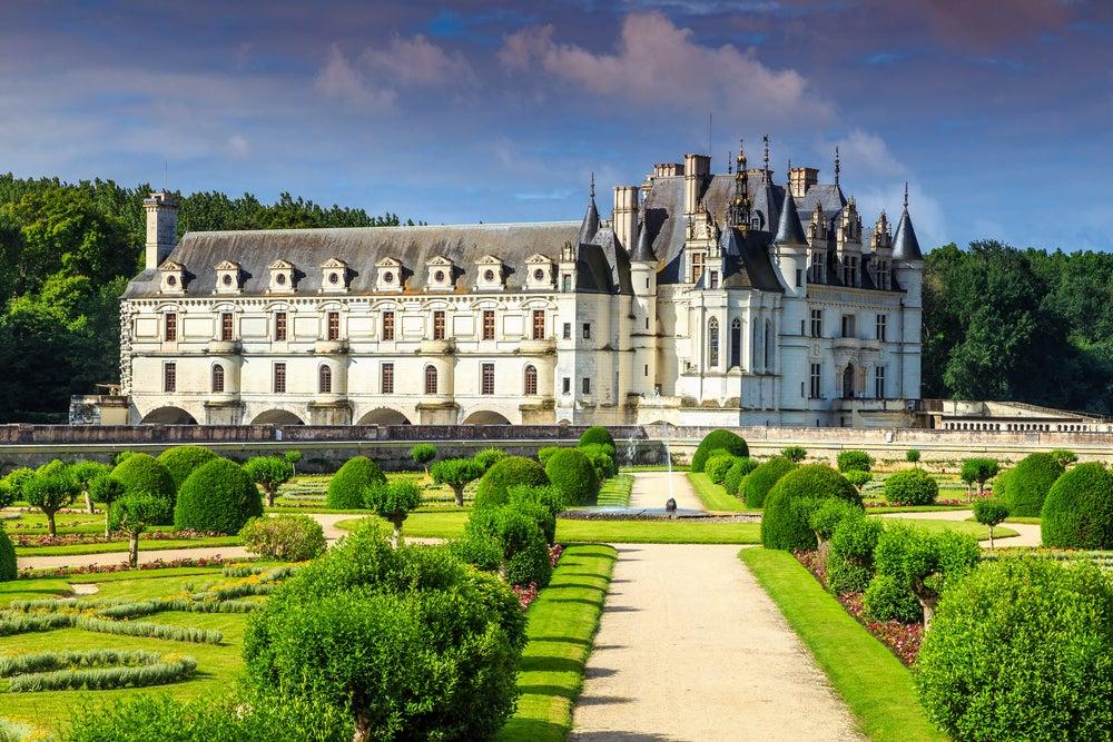 Jardines del castillo de Chenonceau