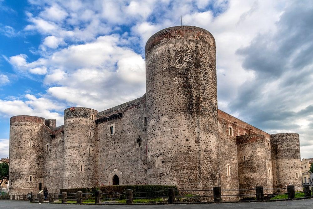 Castillo Ursino en Catania