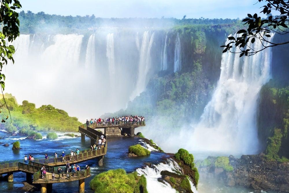 Cataratas del Iguazú en Brasil