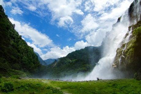 Cataratas Jung Falls en India