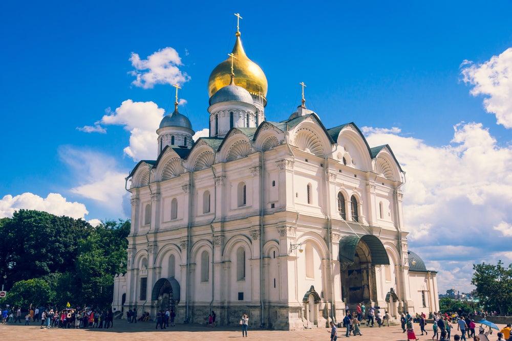Catedral del Arcángel San Miguel en Moscú