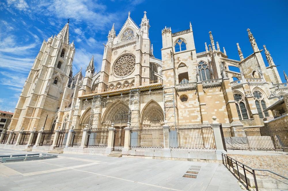 Lateral de la Catedral de León