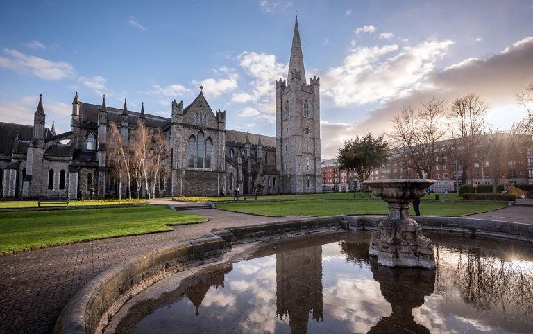 La catedral de San Patricio, la más grande de Dublín